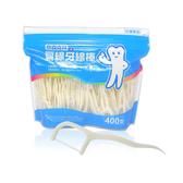 奈森克林 扁線牙線棒(400支/袋)