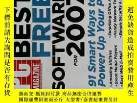 二手書博民逛書店PC罕見Magazine 2007年2月20日 英文個人電腦雜誌 可用樣板間道具雜誌Y14610