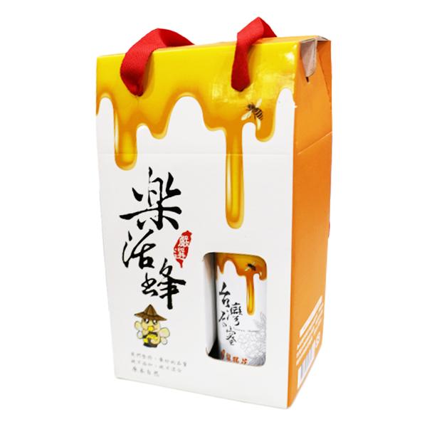 樂活蜂龍眼花蜜禮盒 700ml/2入