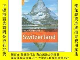 二手書博民逛書店The罕見Rough Guide to Switzerland