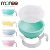 韓國 Monee 100%白金矽膠幼童智慧矽膠碗 附握柄 學習碗 餐碗 學習餐具 0065 好娃娃
