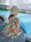 女童連身裙小雛菊碎花裙夏裝寶寶公主裙洋氣夏季【時尚大衣櫥】