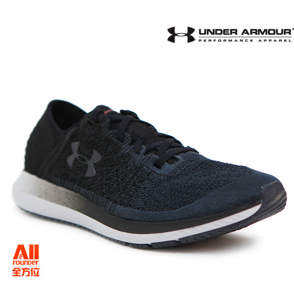 【UA Under Armour】男款慢跑鞋 Threadborne Blur-墨黑(3000008101)-現貨全方位慢跑概念館