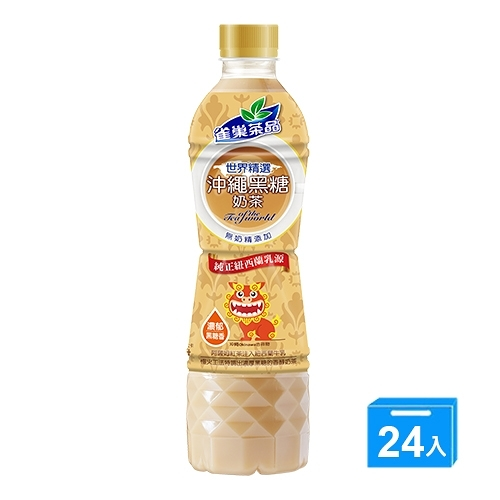 雀巢沖繩黑糖奶茶530MLx24【愛買】