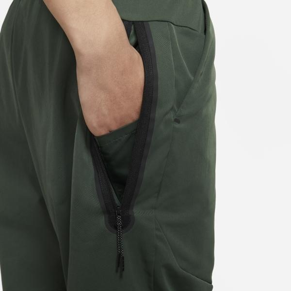 NIKE SPORTSWEAR 男裝 長褲 錐形褲 梭織 休閒 拉鍊口袋 綠【運動世界】CU4484-337