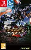 Switch-魔物獵人Generations Ultimate 國際版  以更新中文  PLAY-小無電玩