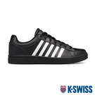 【超取】K-SWISS Court Winston時尚運動鞋-男-黑/白