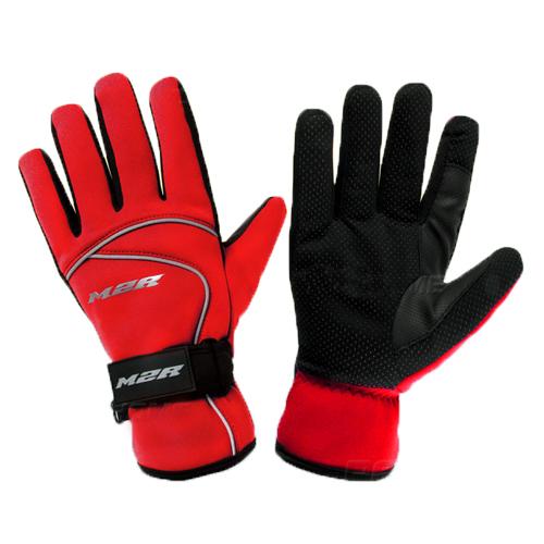 【東門城】M2R G13 防水防風防寒手套(紅) 潛水布