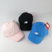 New Balance 棒球帽 老帽 LAH91014- 三色 刺繡款 後可調式【iSport愛運動】