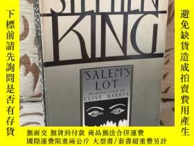 二手書博民逛書店Salem's罕見lot by Stephen KingY171