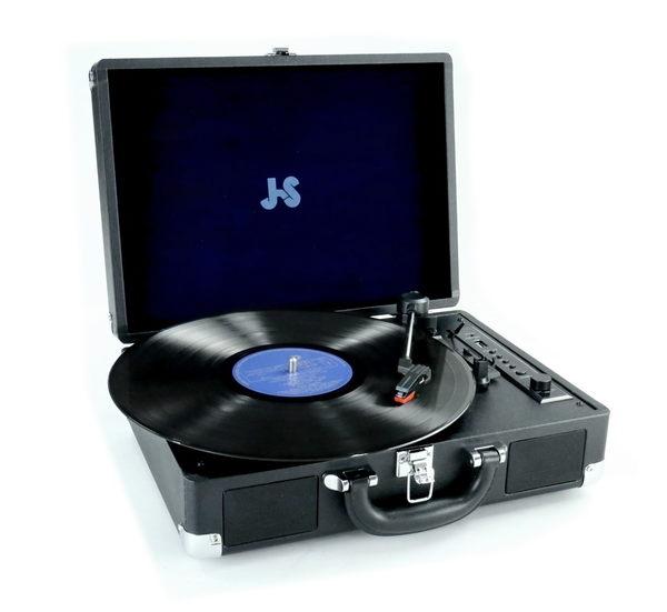 JS 淇譽電子 TLP-2001多功能藍芽黑膠唱盤機
