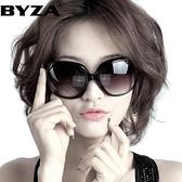 新款偏光太陽鏡女士圓臉款墨鏡女韓版潮大臉顯瘦防紫外 花樣年華