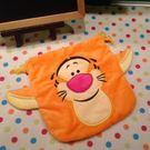 【發現。好貨】迪士尼小熊維尼跳跳虎 刺繡Tigger毛料收納袋束口袋化妝包拍立得相機包
