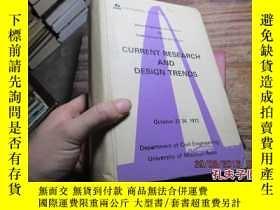 二手書博民逛書店current罕見research and design tre