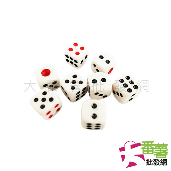 8入骰子/色子-11mm [ 大番薯批發網 ]