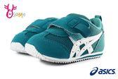 ASICS IDAHO BABY KT-ES 亞瑟士 寶寶運動鞋 小童 足弓墊 機能鞋 A9109#綠色◆OSOME奧森童鞋