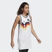 ADIDAS GERMANY TANK DRESS 白 德國 FIFA 世足 背心 女(布魯克林) CE2308