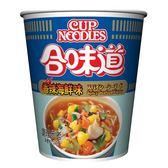 NISSIN日清 合味道香辣海鮮味杯麵(71g) 【康是美】