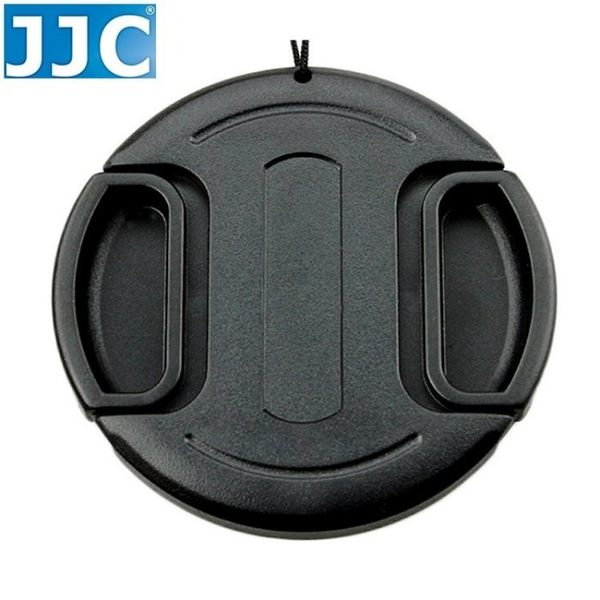 我愛買JJC無字附繩B款37mm鏡頭蓋Panasonic Lumix G X Vario PZ 14-42mm F3.5-5.6 ASPH OIS鏡頭前蓋鏡蓋鏡前蓋