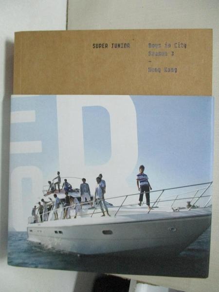 【書寶二手書T1/寫真集_FMD】Super Junior Photobook - Boys in City Season 3 Hong Kong_附光碟