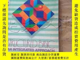 二手書博民逛書店Structured罕見BASIC: An integrated