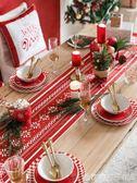 原創節日圣誕ins桌旗餐桌布電視柜茶幾網紅臺布蓋巾桌旗床頭尾巾igo    橙子精品