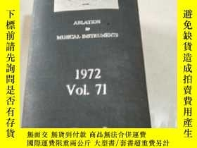 二手書博民逛書店THE罕見ENGINEERING INDEX 1972Vo1.7