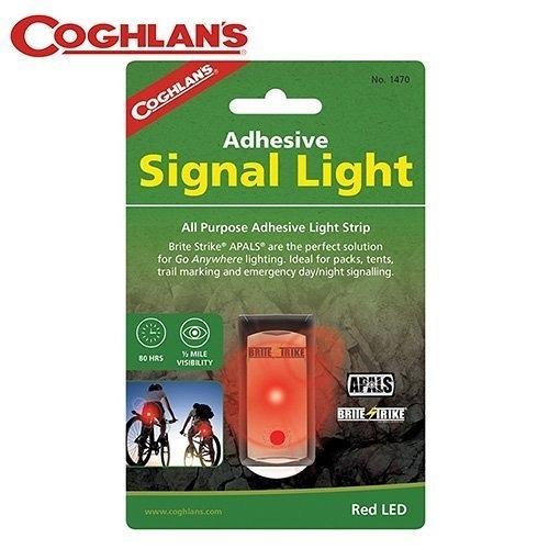 丹大戶外【Coghlans】加拿大 ADHESIVE SIGNAL LIGHT 閃光警示燈 紅光 1470