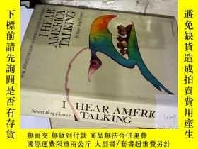 二手書博民逛書店I罕見HEAR AMERICA TALKING 我聽到美國在說話