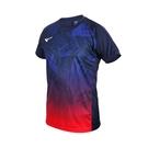 MIZUNO 男世界大賽短袖T恤(免運 吸濕排汗 慢跑 路跑 上衣 運動 美津濃≡排汗專家≡