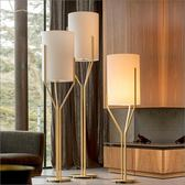 落地燈北歐後現代美式簡約新古典設計師樣板創意房臥室客廳書房wy【快速出貨八折優惠】