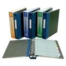 《享亮商城》NO.2620 藍色-活頁帳簿夾 自強