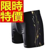 四角泳褲-溫泉設計簡約潮流男平口褲56d84[時尚巴黎]