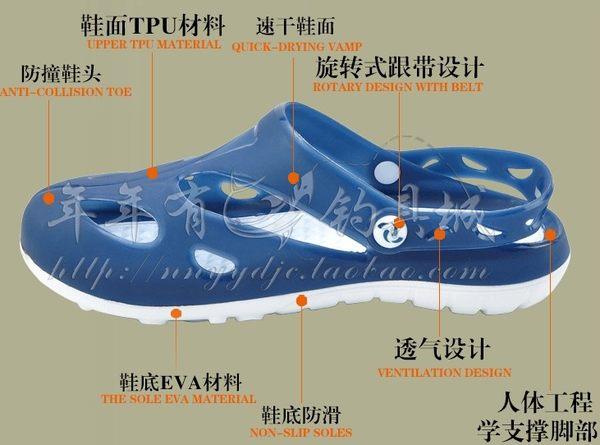[協貿國際]  兩棲釣魚鞋輕便透氣速乾防水防滑鞋
