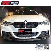 BMW F30 F31 水箱罩 鼻頭 雙槓亮黑 3系列 現貨供應 TRANCO 川閣