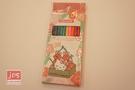 Hello Kitty&Toripicals 凱蒂貓 熱帶水果鳥 12色 色鉛筆 畫筆 櫻桃 KRT-214849