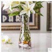 家具創意透明人造水晶玻璃裝飾花器擺件SQ1028『伊人雅舍』