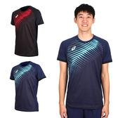 ASICS 男短袖排球印花T恤(免運 短T T恤 亞瑟士≡排汗專家≡