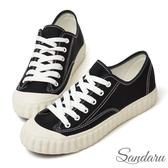 訂製鞋 MIT車線帆布餅乾鞋-黑色下單區