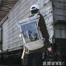日版古著書包潮牌後背包男士大容量時尚潮流韓版女電腦包旅行背包 【新品熱賣】
