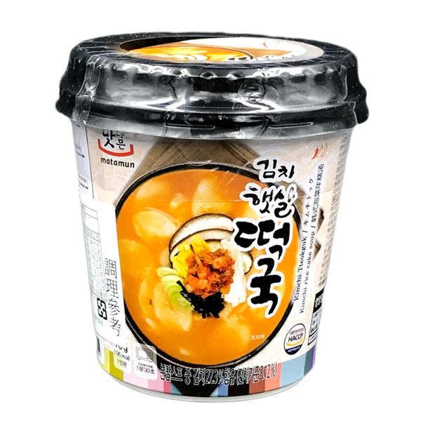 韓國 MATAMUN 韓式泡菜年糕湯(78g) 【庫奇小舖】