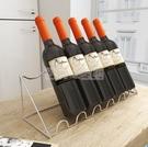 酒架 紅酒架斜放葡萄酒展示酒托酒柜吧臺酒瓶擺件鐵藝置物架子客廳家用 NMS小明同學