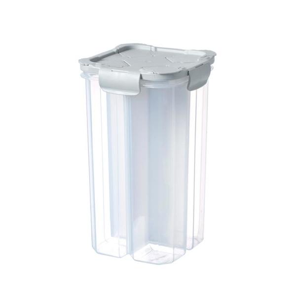 廚房分類四分格密封儲物罐冰箱保鮮盒食物防潮收納盒