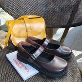 【降價兩天】ins小皮鞋女日繫英倫原宿復古學院風jk制服鞋可愛軟妹瑪麗珍單鞋