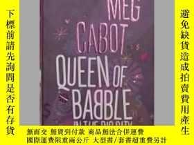 二手書博民逛書店英文原版罕見Queen of Babble in the Big