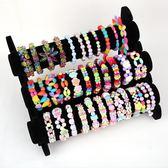 女孩穿手鏈項鏈生日禮物diy益智手工弱勢訓練串珠玩具 YX1037『小美日記』