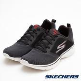 SKECHERS 男鞋 健走系列 GO WALK 4 輕量運動鞋 - 黑 54680BKRD
