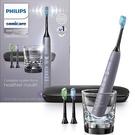 Philips【美國代購】飛利浦 電動牙刷 超音波鑽石靚白9300系列 智慧型 HX9903/41 - 灰色
