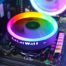 長城霜刃X120 cpu散熱器臺式機RGB多平臺am4下壓式1155散熱器1151 【端午節特惠】