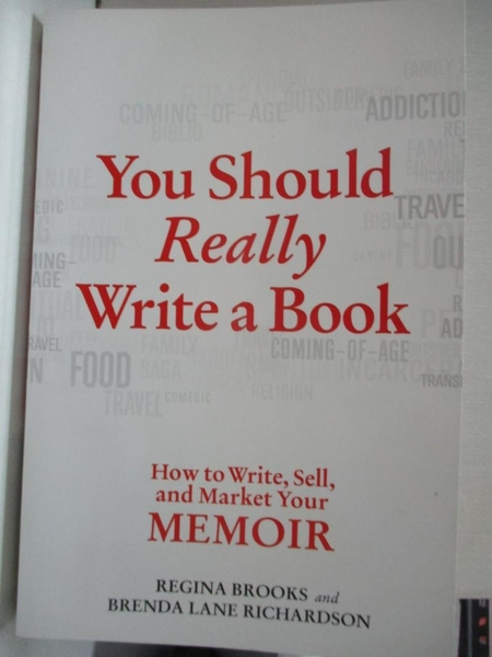 【書寶二手書T1/字典_HIK】You Should Really Write a Book: How to Write, Sell, and…